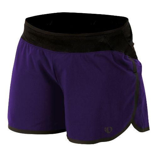 Womens Pearl Izumi Ultra Splits Shorts - Blackberry M