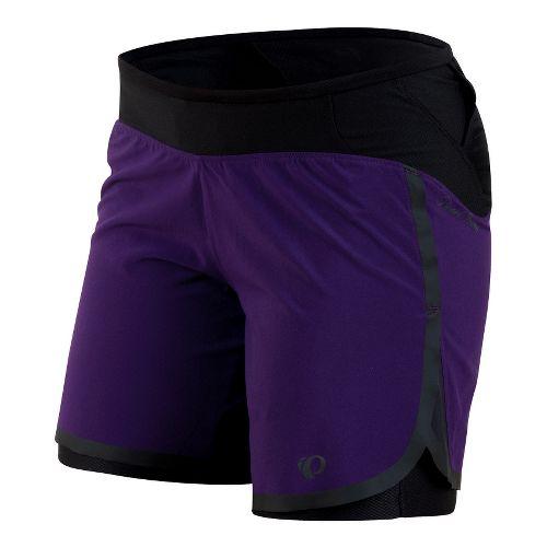Womens Pearl Izumi Ultra Lined Shorts - Blackberry L