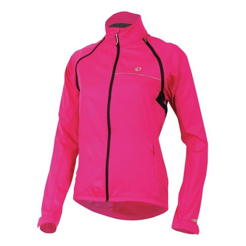 Womens Pearl Izumi Elite Barrier Convertible Running Jackets - Berry M