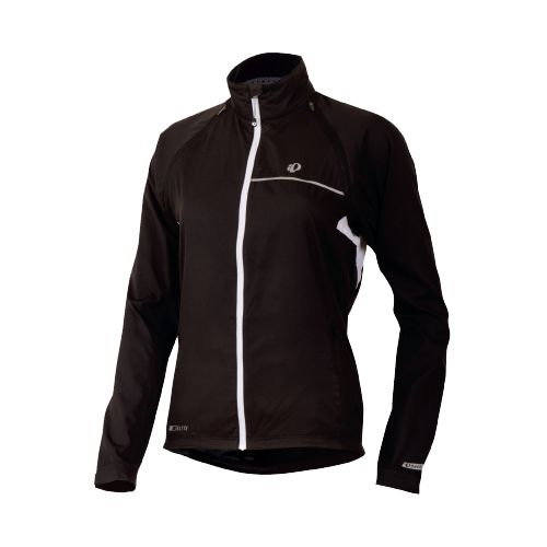 Womens Pearl Izumi Elite Barrier Convertible Running Jackets - Black XL
