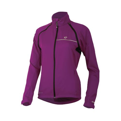 Womens Pearl Izumi Elite Barrier Convertible Running Jackets - Orchid XXL