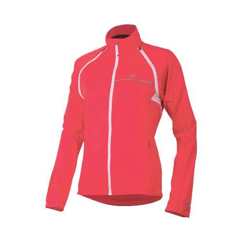 Womens Pearl Izumi Elite Barrier Convertible Running Jackets - Paradise Pink M