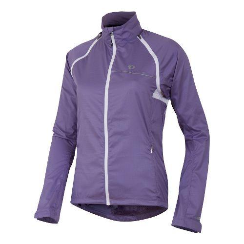 Womens Pearl Izumi Elite Barrier Convertible Running Jackets - Purple Haze S