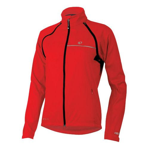 Womens Pearl Izumi Elite Barrier Convertible Running Jackets - True Red L