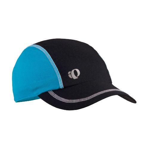 Mens Pearl Izumi Infinity In-R-Cool Cap Headwear - Black/Electric Blue