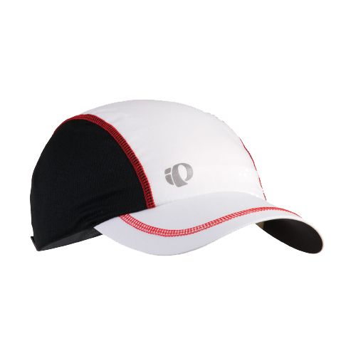 Mens Pearl Izumi Infinity In-R-Cool Cap Headwear - White/True Red