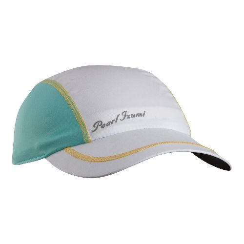 Womens Pearl Izumi Infinity In-R-Cool Cap Headwear - White/Aruba Blue