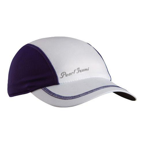 Womens Pearl Izumi Infinity In-R-Cool Cap Headwear - White/Blackberry