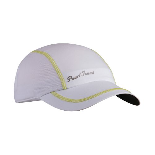 Womens Pearl Izumi Infinity In-R-Cool Cap Headwear - White/Lime