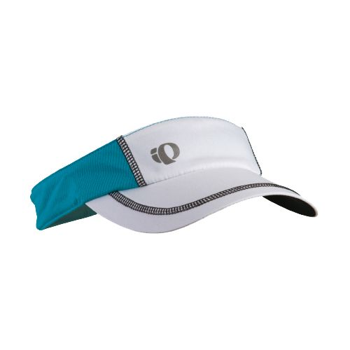 Mens Pearl Izumi Infinity In-R-Cool Visor Headwear - White/Electric Blue
