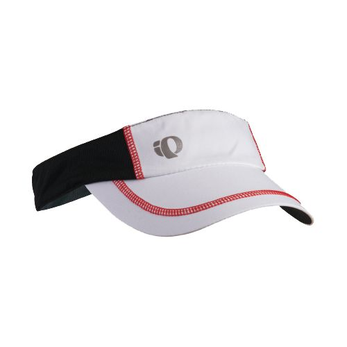 Mens Pearl Izumi Infinity In-R-Cool Visor Headwear - White/True Red