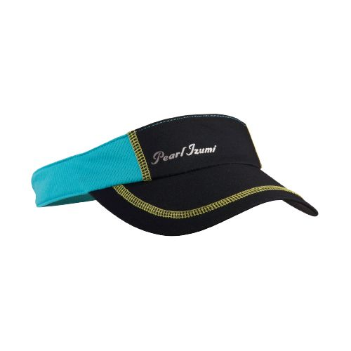 Womens Pearl Izumi Infinity In-R-Cool Visor Headwear - Black/Scuba Blue