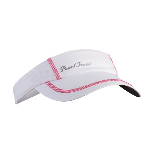 Womens Pearl Izumi Infinity In-R-Cool Visor Headwear - White/Paradise Pink