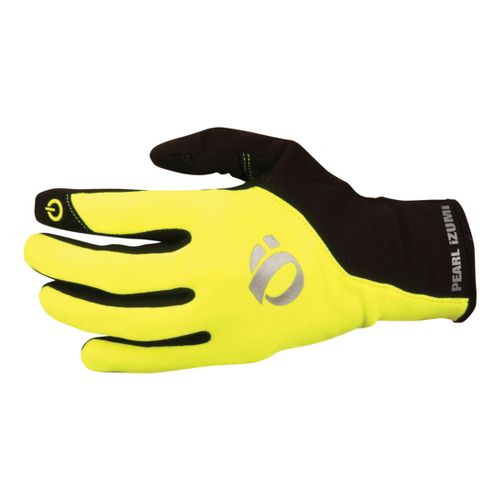 Mens Pearl Izumi Thermal Conductive Glove Handwear - Screaming Yellow/Black L