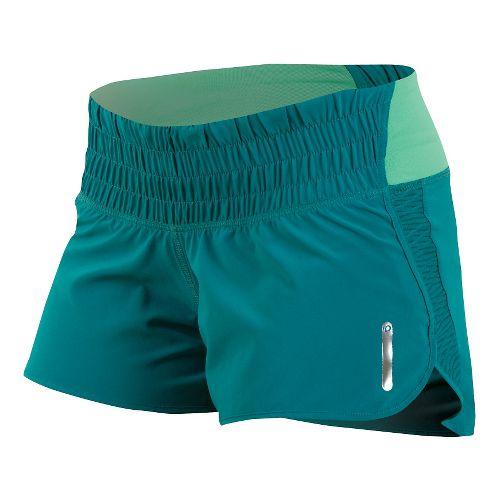 Womens Pearl Izumi Flash Lined Shorts - Deep Lake XL