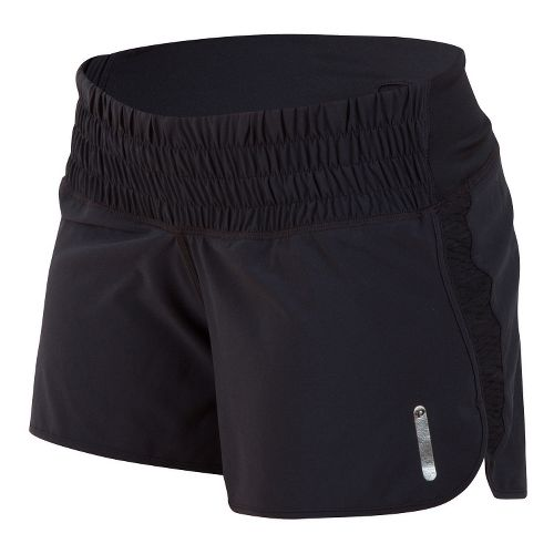 Womens Pearl Izumi Flash Lined Shorts - Black XXL
