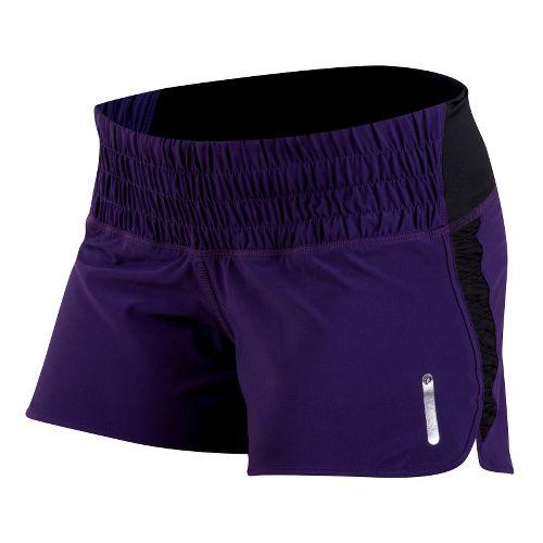 Womens Pearl Izumi Flash Lined Shorts - Blackberry L