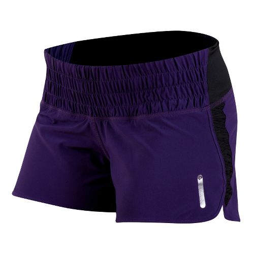 Womens Pearl Izumi Flash Lined Shorts - Blackberry M