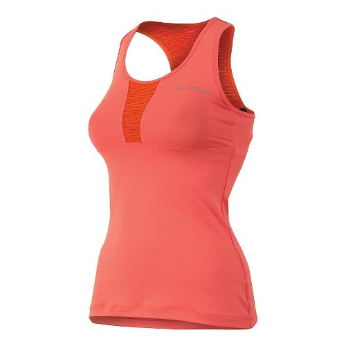 Womens Pearl Izumi Fly Sport Tank Technical Tops - Living Coral XL