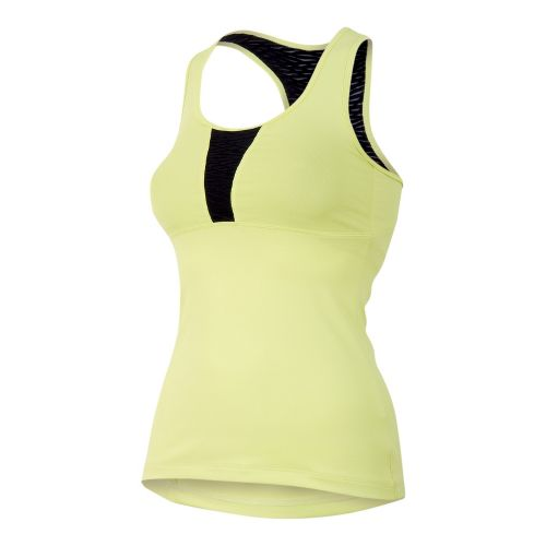 Womens Pearl Izumi Fly Sport Tanks Technical Tops - Sunny Lime S