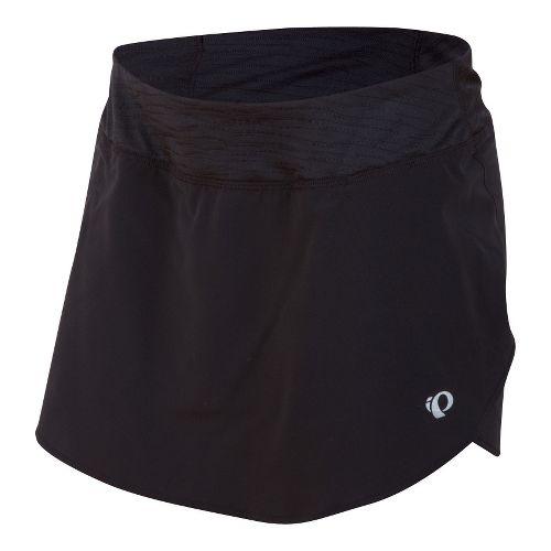 Womens Pearl Izumi Fly Run Skort Fitness Skirts - Black XS