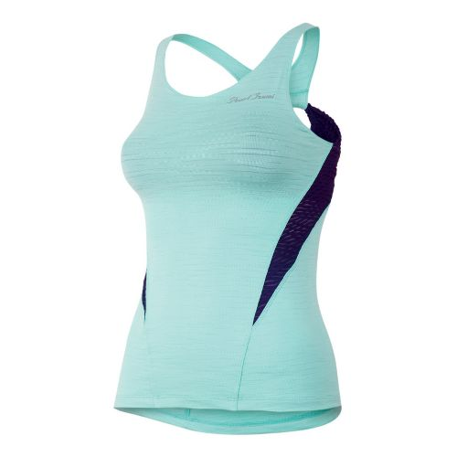 Womens Pearl Izumi Flash Sport Tanks Technical Tops - Aruba Blue L