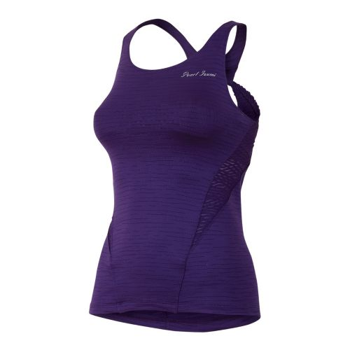 Womens Pearl Izumi Flash Sport Tanks Technical Tops - Blackberry XS