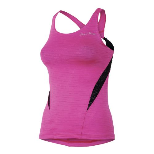 Womens Pearl Izumi Flash Sport Tanks Technical Tops - Raspberry Rose S