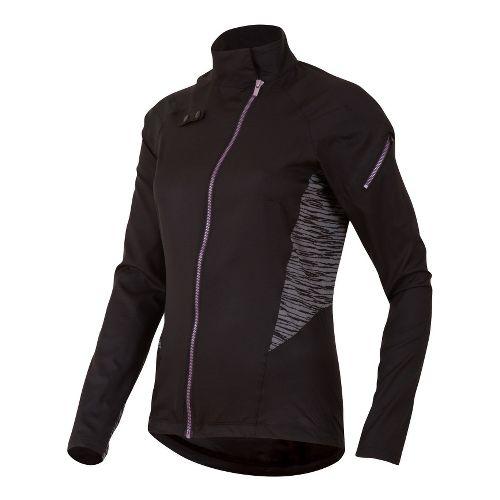 Womens Pearl Izumi Flash Running Jackets - Black M