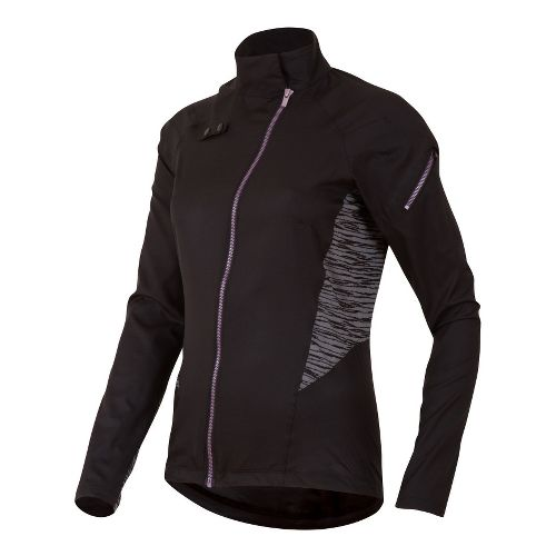 Womens Pearl Izumi Flash Running Jackets - Black S
