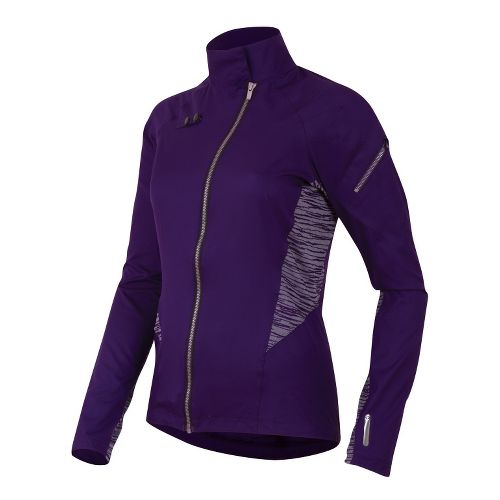 Womens Pearl Izumi Flash Running Jackets - Blackberry M