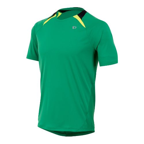 Mens Pearl Izumi Fly Short Sleeve Technical Tops - Jelly Bean M