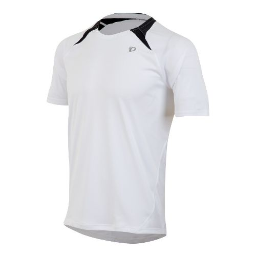 Mens Pearl Izumi Fly Short Sleeve Technical Tops - White L