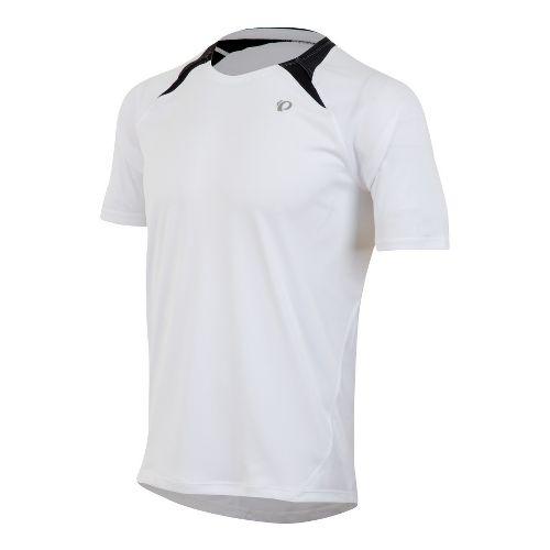 Mens Pearl Izumi Fly Short Sleeve Technical Tops - White S