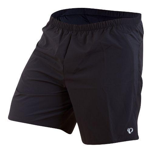 Mens Pearl Izumi Fly Long Lined Shorts - Black XXL