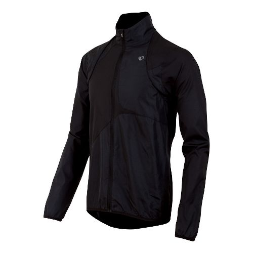 Mens Pearl Izumi Fly Convertible Running Jackets - Black XXL