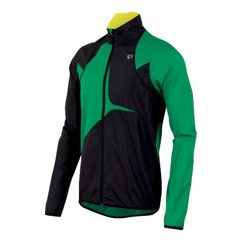 Mens Pearl Izumi Fly Convertible Running Jackets - Jelly Bean/Black L