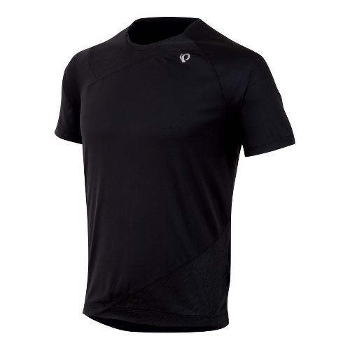 Mens Pearl Izumi Flash Short Sleeve Technical Tops - Black M