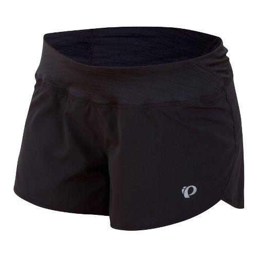 Womens Pearl Izumi Fly Split Lined Shorts - Black XL