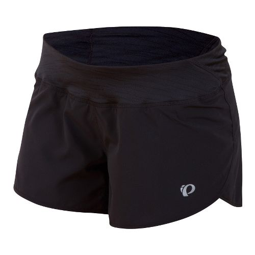 Womens Pearl Izumi Fly Split Lined Shorts - Black XS
