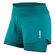 Womens Pearl Izumi W Flash 2 in 1 Shorts