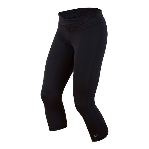 Womens Pearl Izumi Fly 3/4 Capri Tights - Black M