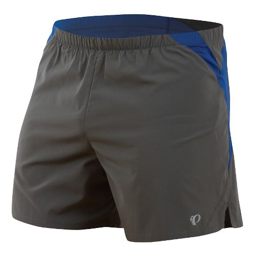 Mens Pearl Izumi Fly Lined Shorts - Shadow Grey/Limoges XL