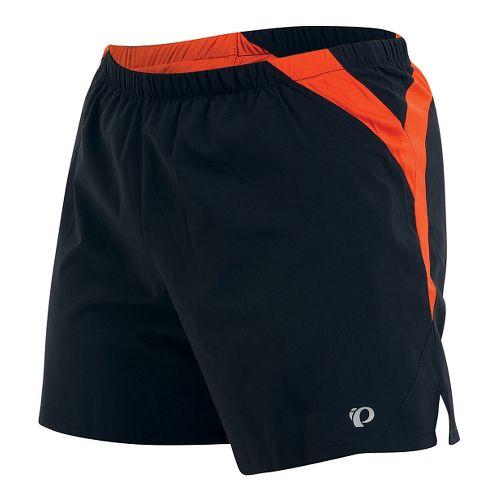 Mens Pearl Izumi Fly Lined Shorts - Black/Sulphur L