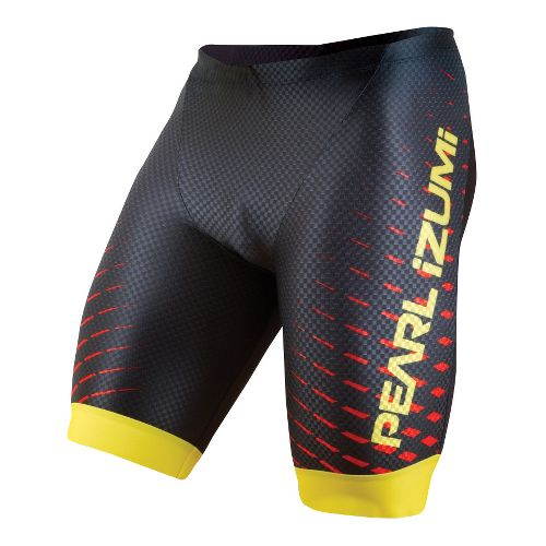 Mens Pearl Izumi PRO In-R-Cool Tri Fitted Shorts - Black L