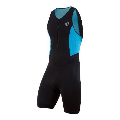 Mens Pearl Izumi SELECT Triathlon UniSuits - Black/Electric Blue L
