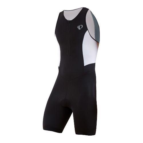 Mens Pearl Izumi SELECT Triathlon UniSuits - Black/White XXL