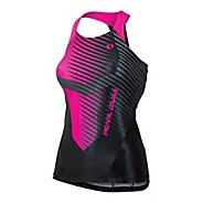 Womens Pearl Izumi PRO In-R-Cool Tri Singlets Technical Tops