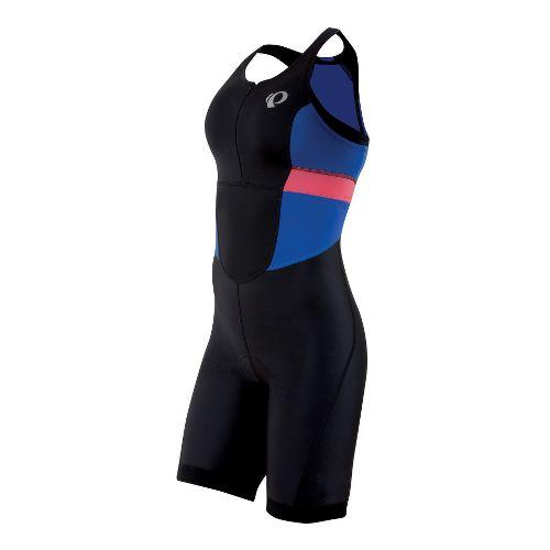 Womens Pearl Izumi SELECT Triathlon UniSuits - Black/Dazzling Blue M