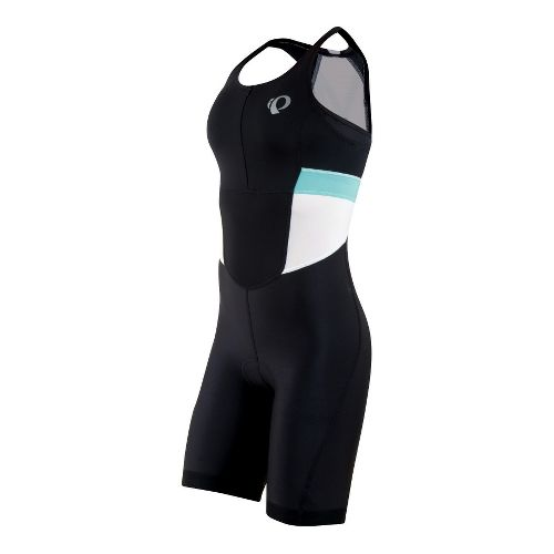 Womens Pearl Izumi SELECT Triathlon UniSuits - Black/White XL